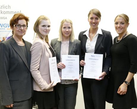 Auszubildende der Volksbank an der Niers sind Prüfungsbeste in NRW
