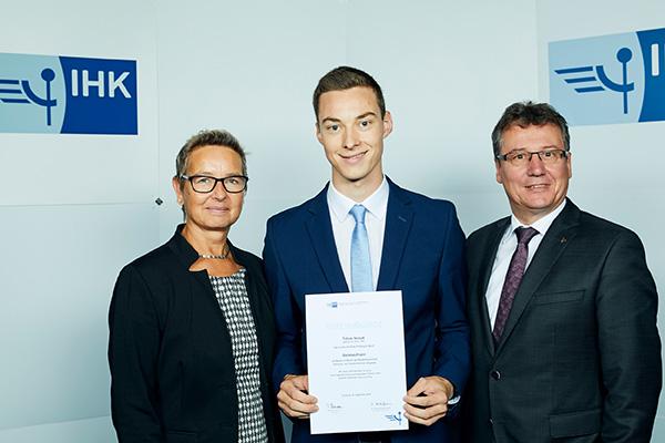 Top-Absolvent der IHK Niederrhein