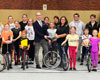 """Neue Einräder für den Radsportverein """"Falke"""""""