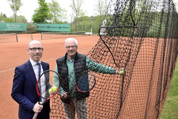 Neue Netze für den Tennisverein Winnekendonk