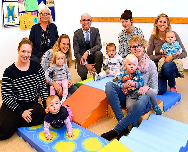 Neue Spiellandschaft für die Familienbildungsstätte