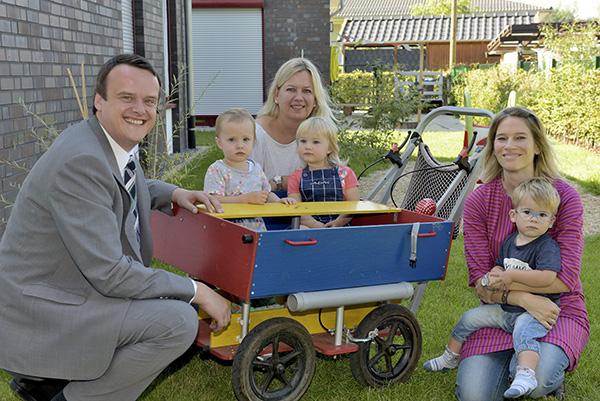 Neuer Kinderbus für die Kindertagesstätte