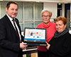Volksbank stärkt Osteoporosegruppe Goch